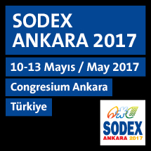 SODEX ANKARA 2017 / 10-13 May�s 2017, Congresium Ankara-T�rkiye