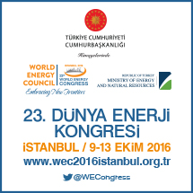 23rd World Energy Congress Istanbul 2016