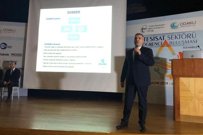 Tesisat Sektörü Öğrenci Buluşması İstanbul'da gerçekleştirildi.